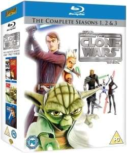 Star Wars The Clone Wars - Coffret 9 Blu-ray Saisons 1+2+3