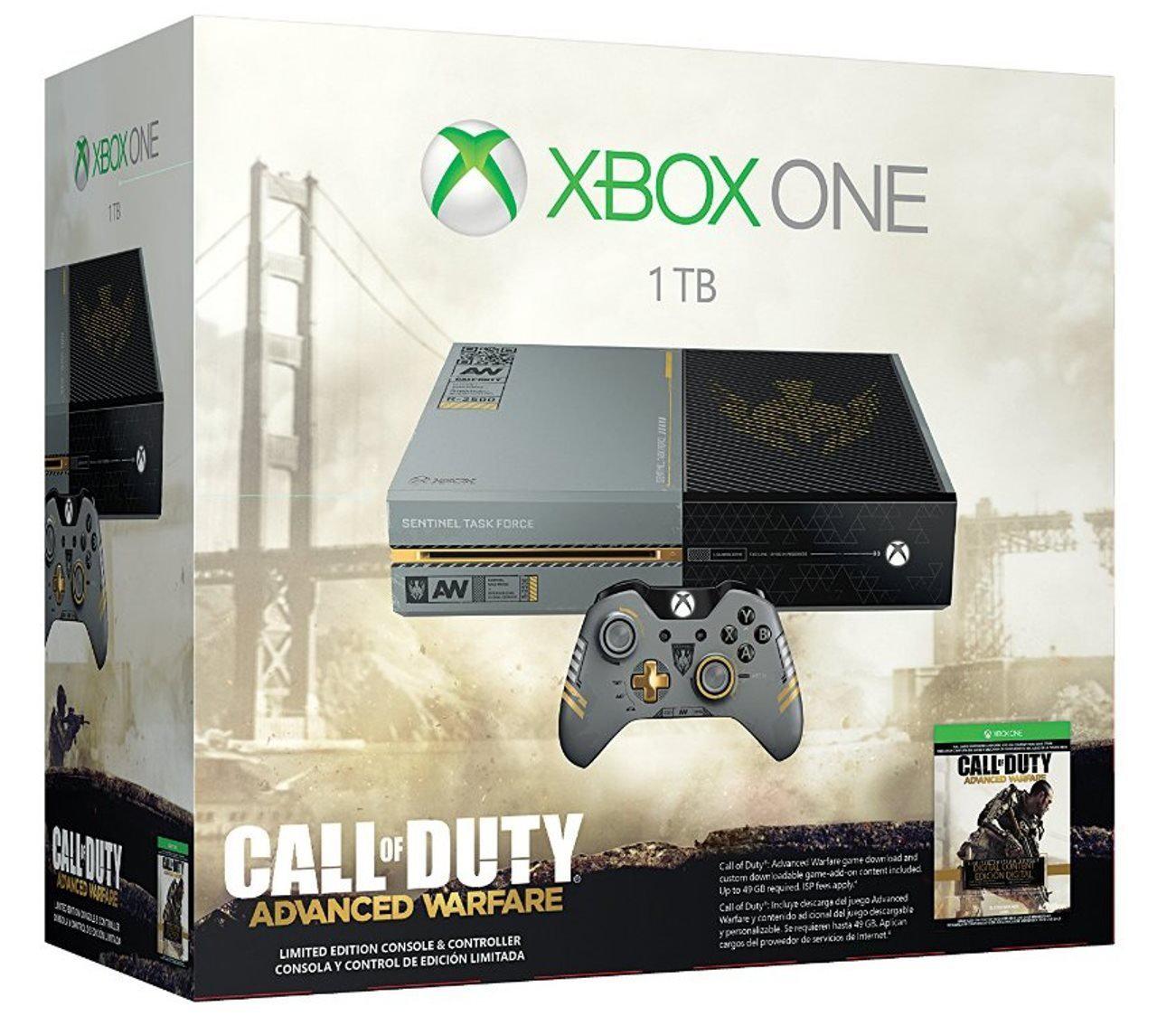 Console Xbox One 1To + Call of Duty Advanced Warfare
