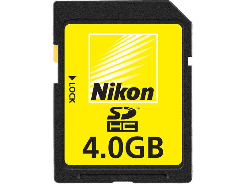 Carte SD Nikon - 4Go