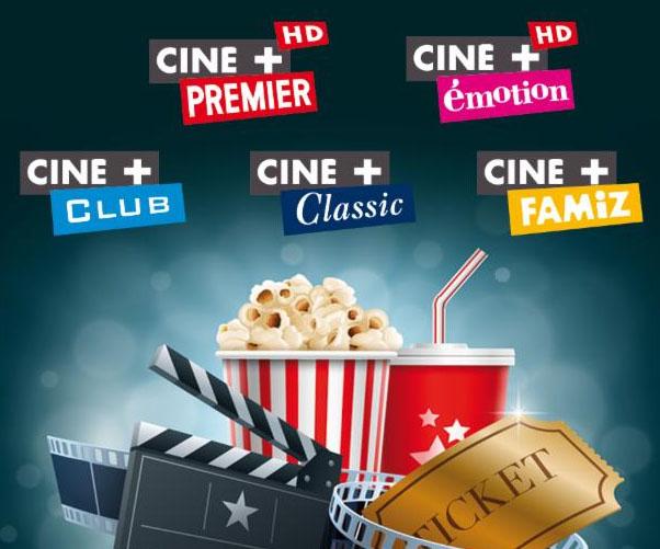 Ciné+ offertes en novembre pour les abonnés Freebox TV