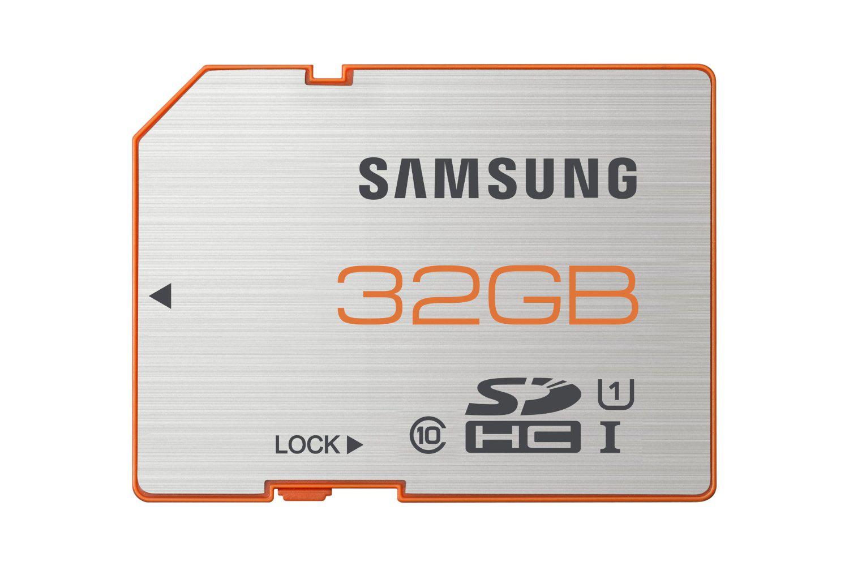 Carte mémoire SDHC 32Go Classe 10 Samsung plus UHS-1 Grade 1 70Mo/s