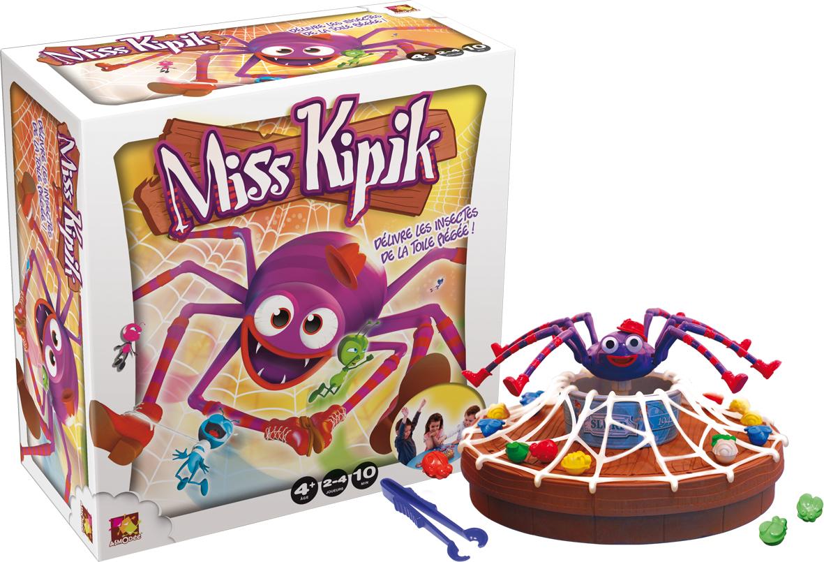 4 jeux Miss Kipik (Avec 50€ ODR et 10€ chéque fidelité + Gain possible)