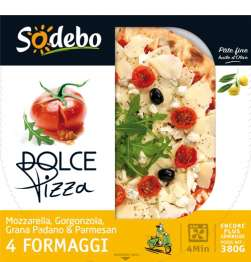 2 Pizza Sodebo 4 fromages (via Shopmium)