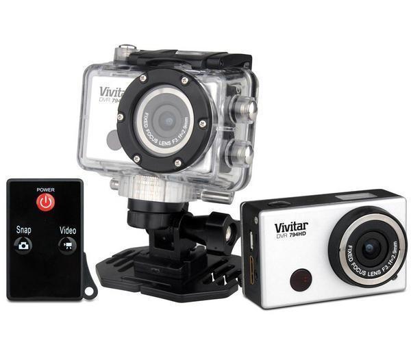 Caméra sport Vivitar DVR 794 HD - blanc