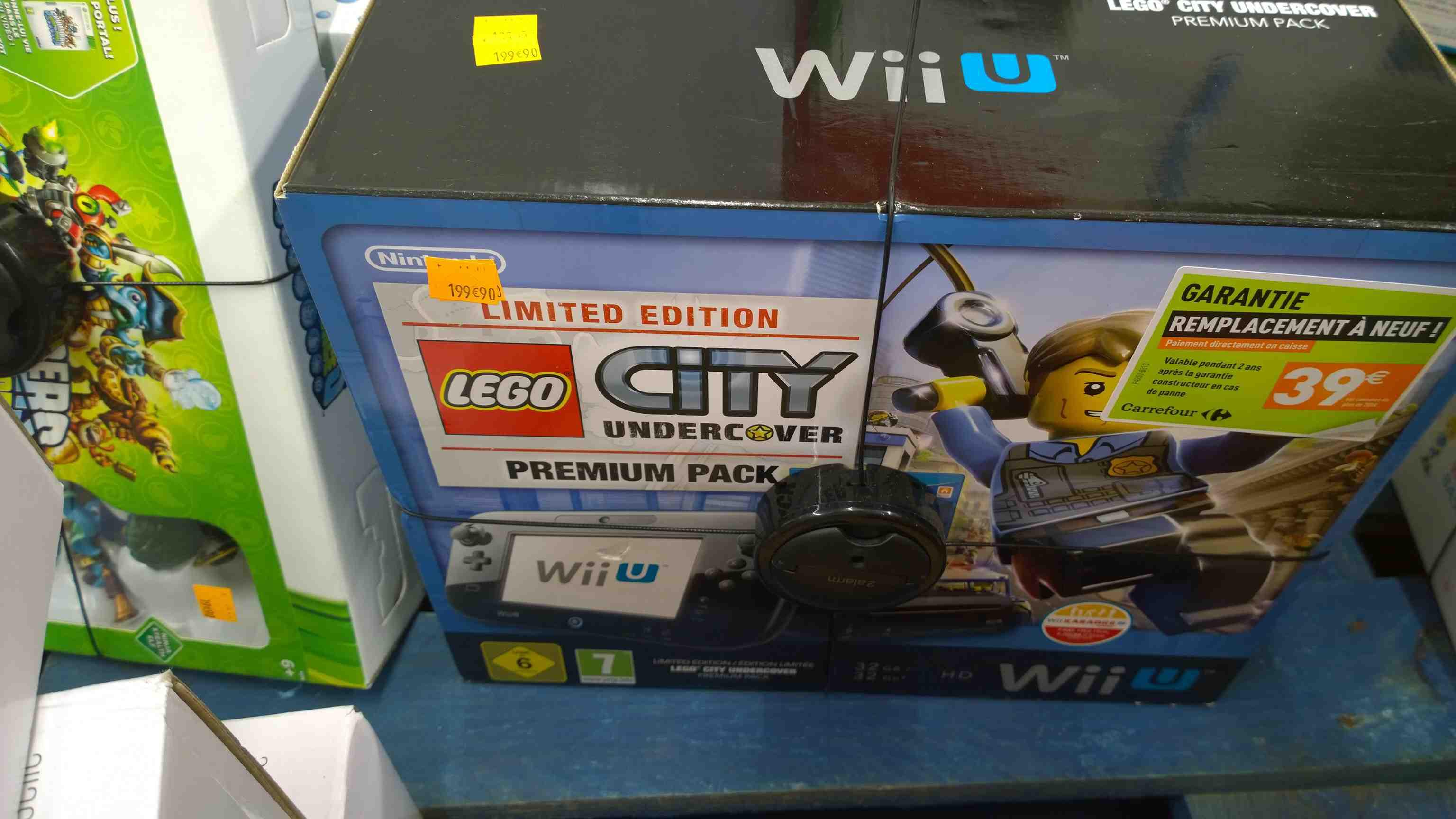 Pack Wii U Lego Undercover
