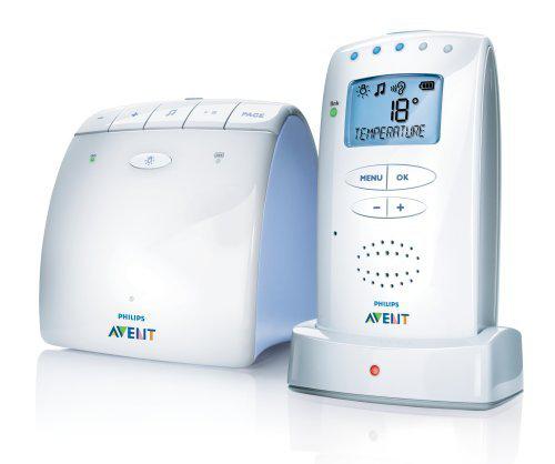 Babyphone DECT Philips Avent SCD525/00