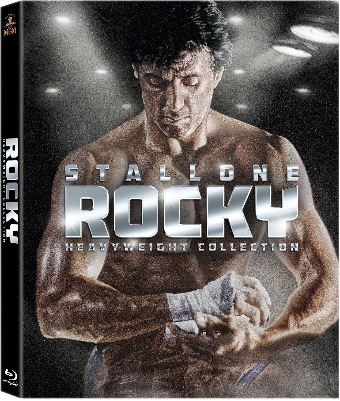 Coffret Blu-ray Intégrale Rocky : Heavyweight Collection (7 Blu-rays)