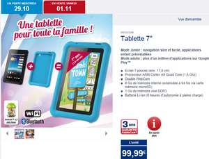 "Tablette junior 7"" Medion 8Go"