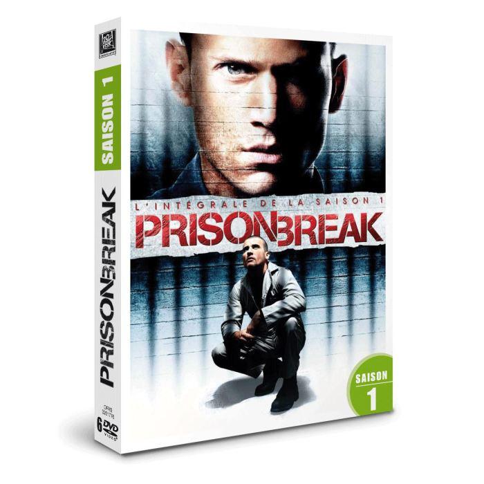 Coffret DVD Prison Break Saison 1
