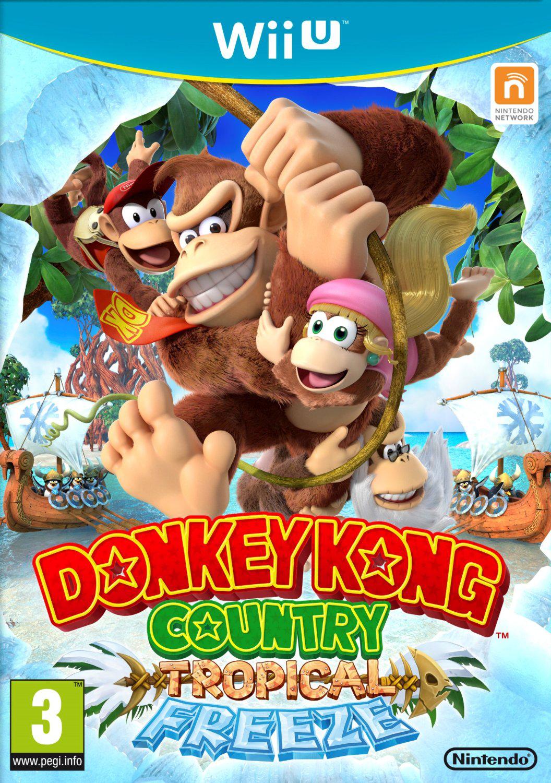 Donkey Kong Country : Tropical Freeze sur Wii U (Avec 5€ sur la carte de fidélité)