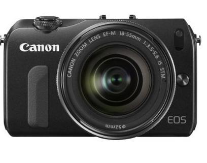 Appareil photo Hybride Canon EOS M Noir + Obj. EF-M IS STM 18 - 55 mm f/3.5 - 5.6 + Flash externe Speedlite 90EX