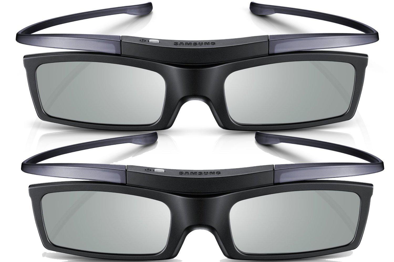 2 paires de lunettes 3D active Samsung SSG-P51002 avec IR et Bluetooth