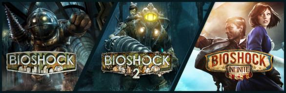 Triple Pack BioShock (1, 2, Infinite) sur PC