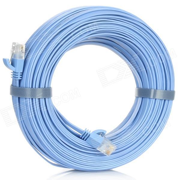 Cable réseau ethernet plat 30M en catégorie 6