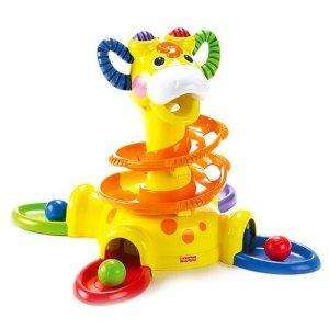 Jouet premier âge Fisher Price Tourballon girafe