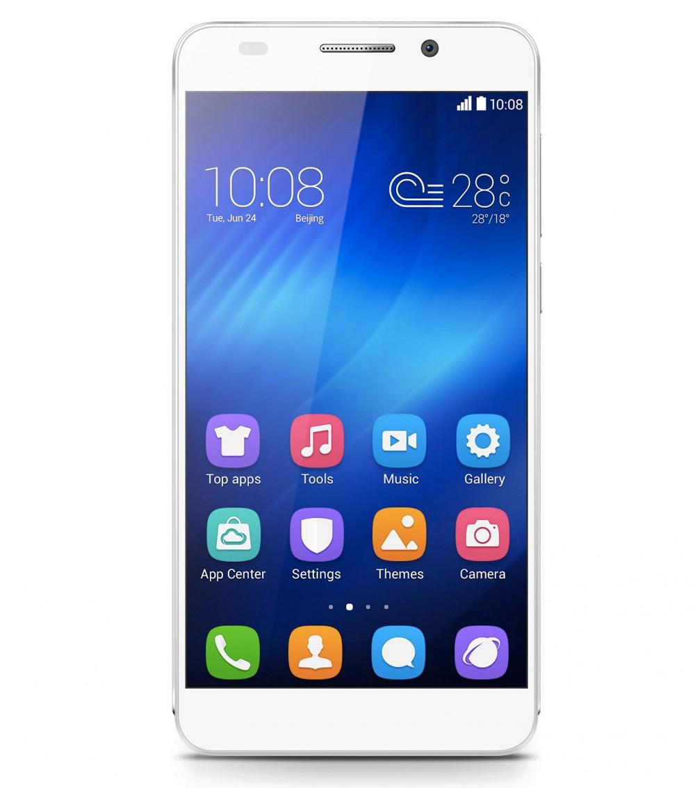 "Smartphone 5"" Huawei Honor 6  - Noir ou Blanc"