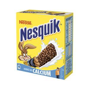 Lots 6 paquets de barre Nesquick (0,71€ la boite avec bons de réductions de 1,10€)