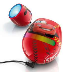 Lampe de chevet pour enfant Disney Cars Philips LivingColors