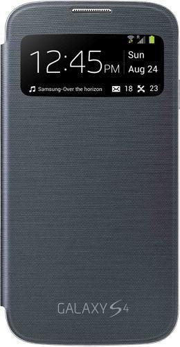 Etui Samsung S View Cover Galaxy S4 Noir Gratuit (avec ODR)