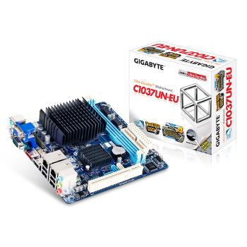 Carte mère Mini-ITX Gigabyte GA-C1037UN-EU (Intel Celeron 1037U integré)