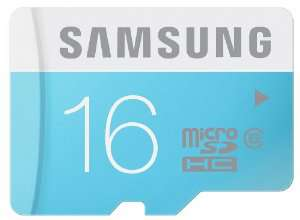 Carte Mémoire MicroSDHC Samsung 16 Go - Classe 6