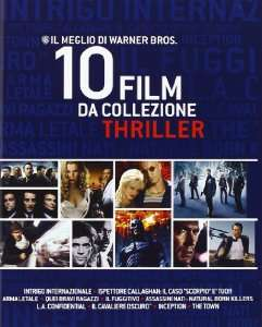 Coffret Blu-ray Warner Bros 10 Films (Inception, The Dark Knight, Les Affranchis...)