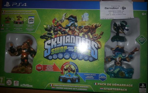 Pack de démarrage Skylander Swap Force sur PS4 / Xbox one