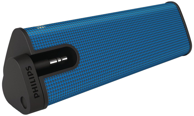 Enceinte portable Philips SBA1610BLU/00 2W - Bleu