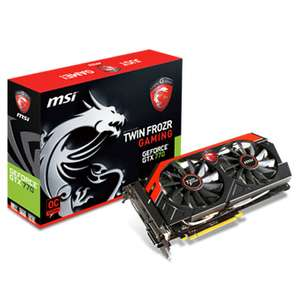 Carte graphique MSI geforce GTX 770 Twin Frozr OC + Jeu Borderlands The Pre-Sequel Offert