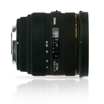 Objectif pour Reflex Nikon Sigma 24-70mm f/2,8 DG EX HSM (Nikon)