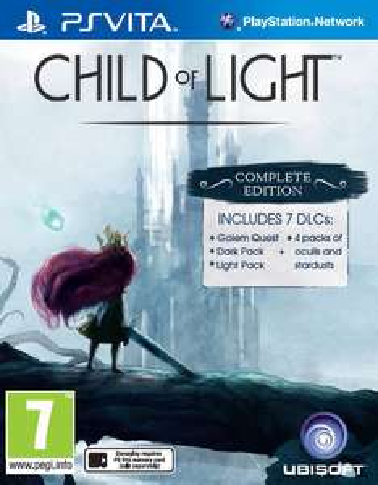 Jeu PS Vita Child of Light Complete Edition
