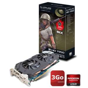 Carte Graphique Sapphire AMD Radeon HD7950 3Go Boost reconditionnée