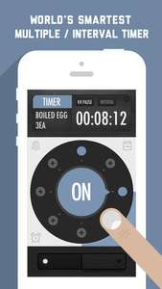 Application iOS Timegg Pro gratuite (au lieu de 0.89€)
