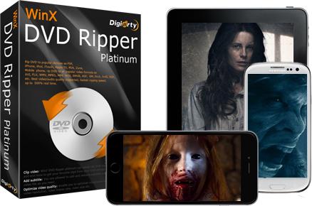 Logiciel d'extraction et d'encodage WinX DVD Copy Pro gratuit sur PC/Mac
