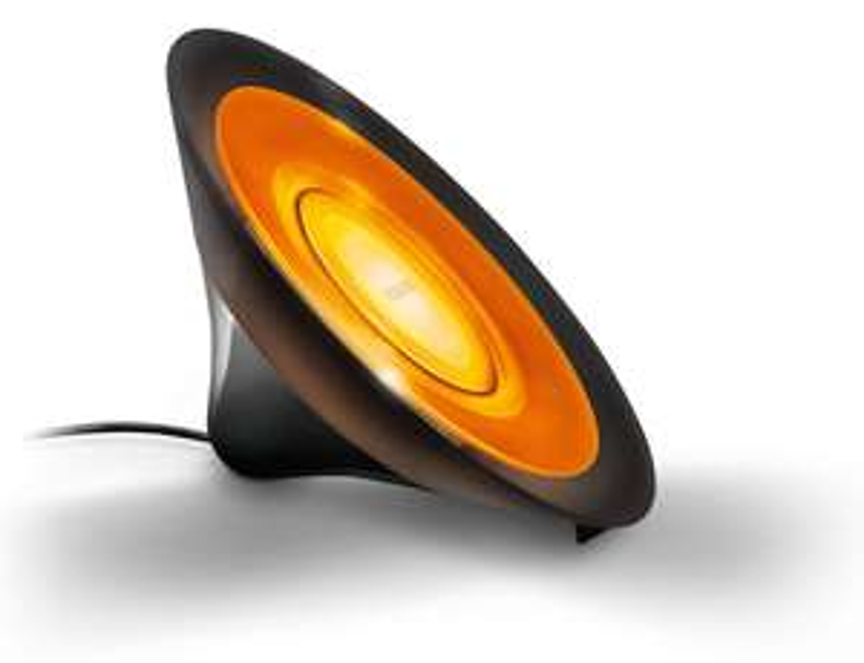 lampe Philips Living Colors Aura - Blanc/bleu ou Noir/orange