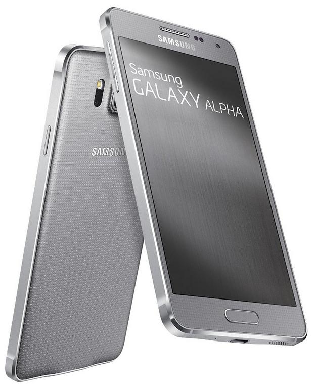 Smartphone Samsung Galaxy Alpha - 32Go (avec ODR 70€)