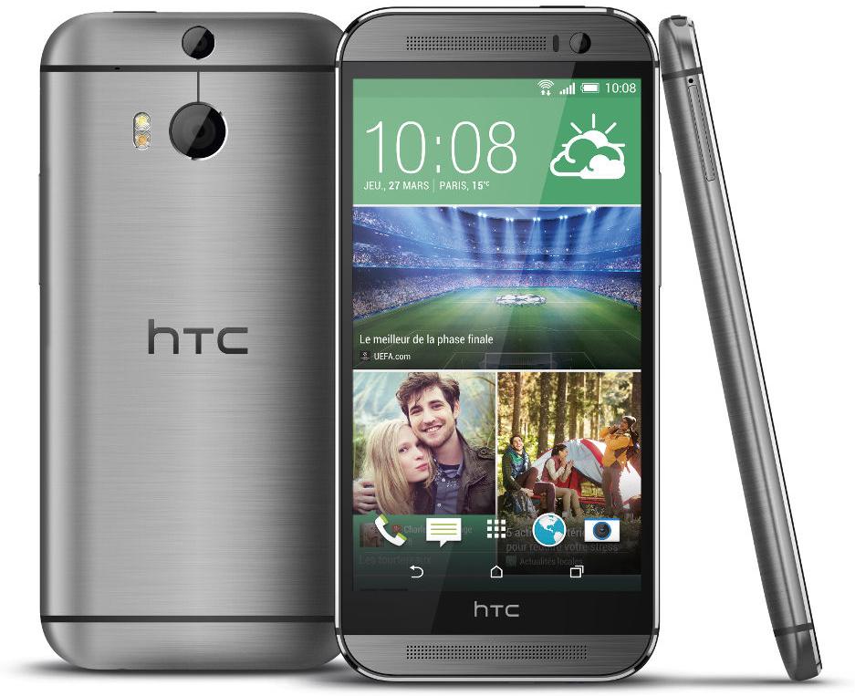 Smartphone HTC One M8 Gris Acier (avec ODR de 60€ valable aujourd'hui seulement)