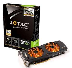 Carte graphique Zotac  GeForce GTX 770 4Go Dual Silencer