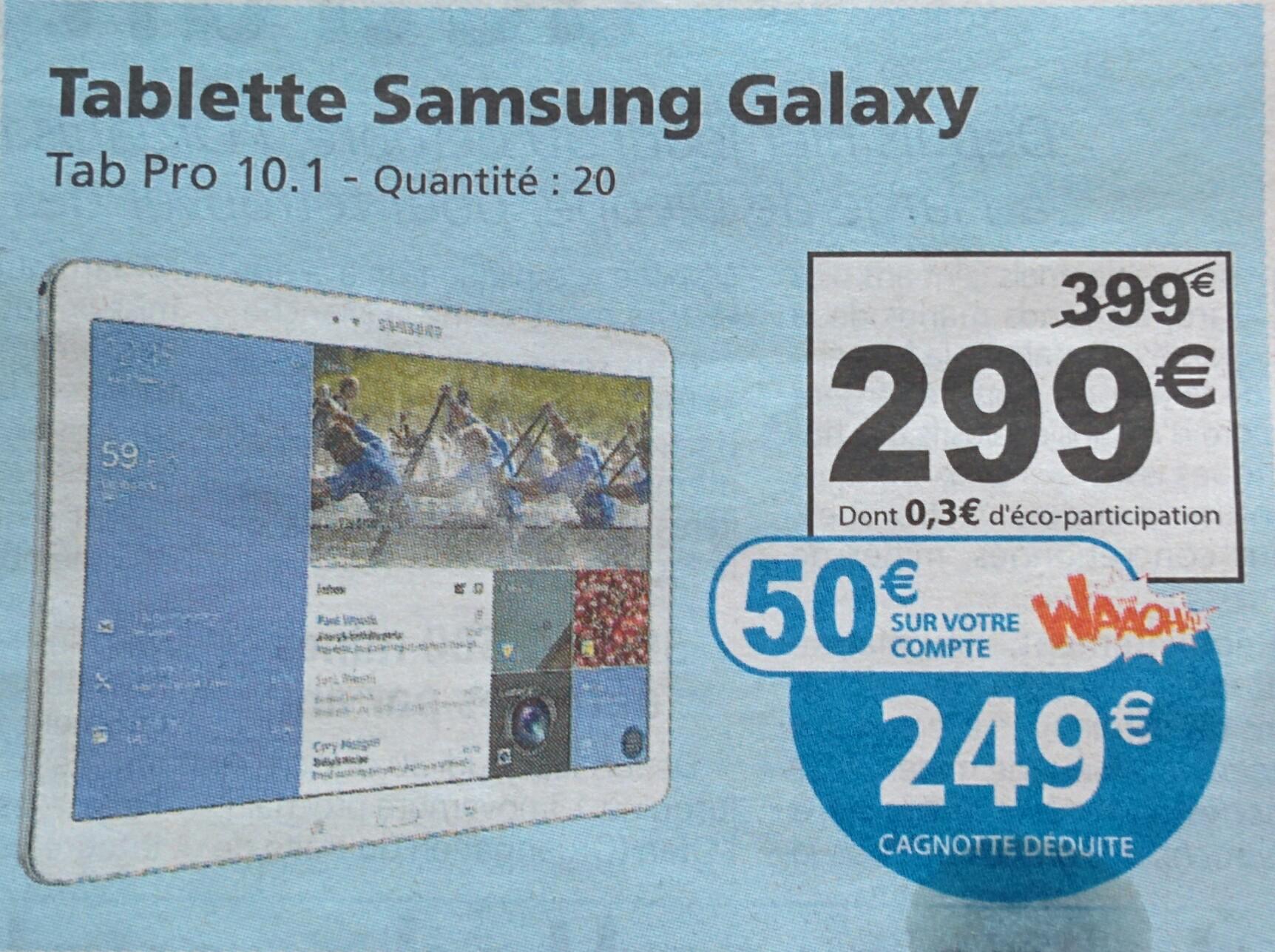 """Tablette 10.1"""" Samsung Galaxy Tab Pro - 16Go"""
