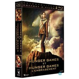 Coffret Blu-Ray Hunger Games 1 et 2