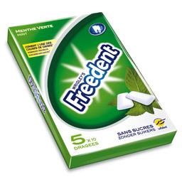 chewing gums Freedent (ticket leclerc de 50% déduit)