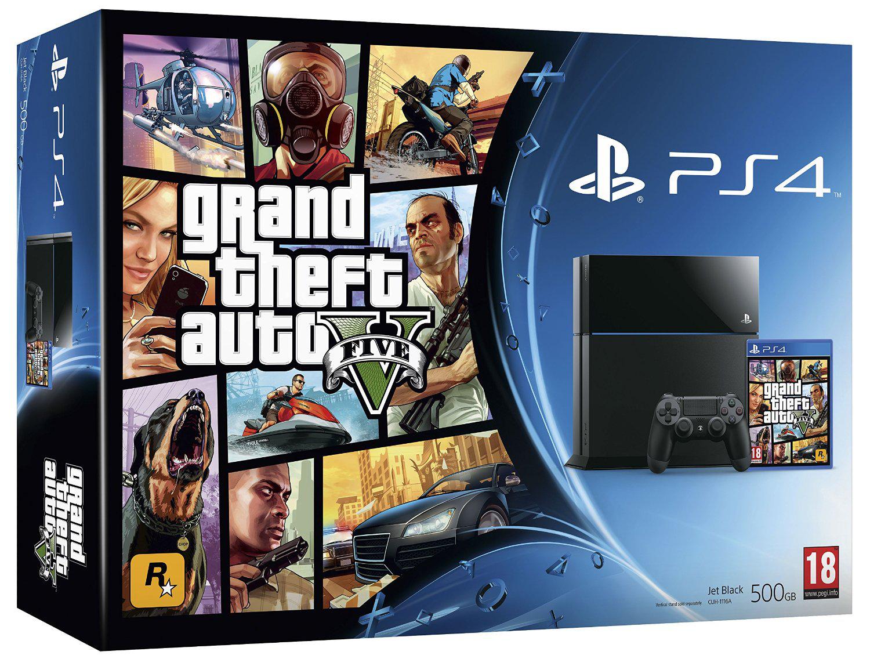 Précommande : Console PS4 500 Go + GTA V