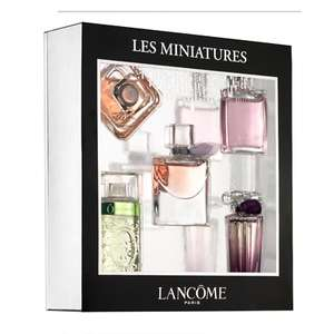coffret 5 parfums miniatures Lancome