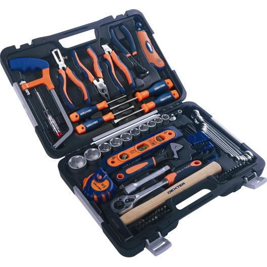 """Coffret d'outils composé de 75 pièces """"Dexter"""""""