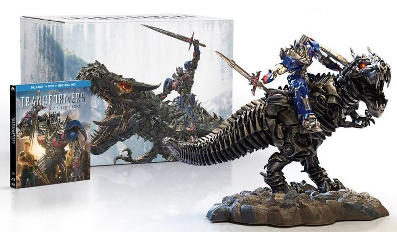 Transformers : l'âge de l'extinction - Edition collector Blu-ray avec figurine
