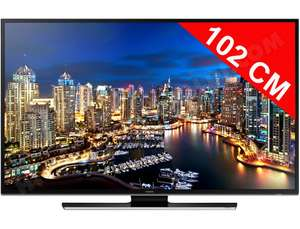 "TV LED 40"" Samsung UE40HU6900 UHD 4K - Smart TV (Avec ODR de 100€ + 50€ via SMS)"