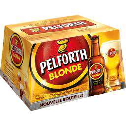 Pack de Bière Pelforth Blonde 12x 25cl