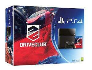 Console Sony PS4 500Go + Drive Club