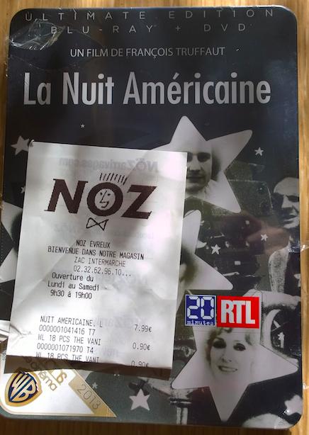 Sélection de Blu-rays en promotion (voir description) - Ex. : La Nuit américaine