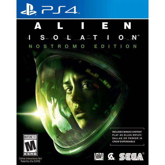 Alien: Isolation (Nostromo Edition) sur PS4